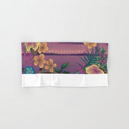 Soul Catalyst Paradise (Artwork by Ramiro Hernandez) Hand & Bath Towel