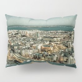Lisbon sky view Pillow Sham