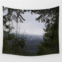Mountain Wreath Wall Tapestry