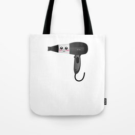 My Job Blows Funny Blow Dryer Pun Tote Bag