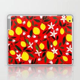 Lemons Red Laptop & iPad Skin