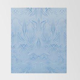 Pinstripe Pattern Creation Throw Blanket