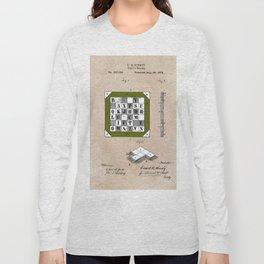 patent Kinsey Puzzle Blocks 1878 Long Sleeve T-shirt