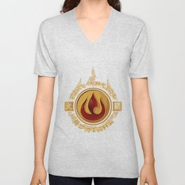 Fire Nation Admiral Unisex V-Neck