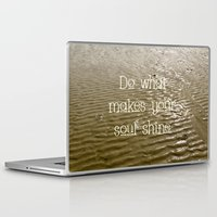 soul Laptop & iPad Skins featuring Soul by Alice Gosling