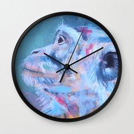 Monkey gone to heaven Wall Clock
