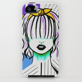 Silenced Girls (part 3/3) iPhone Case