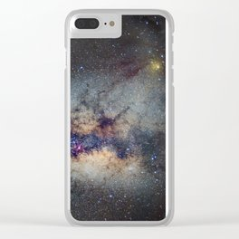 The Milky Way: from Scorpio and Antares to Perseus Clear iPhone Case