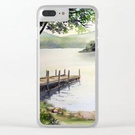 Derwent Water Clear iPhone Case