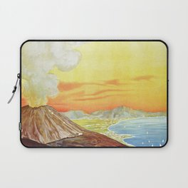 Vesuvius and the Gulf of Naples Laptop Sleeve