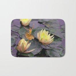 tinker bell & tiger lilies Bath Mat