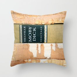 Moby Dick (or The Whale)  Throw Pillow