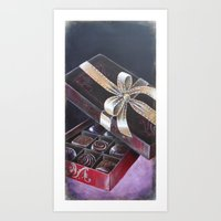 CHOCOLATE BOX Art Print