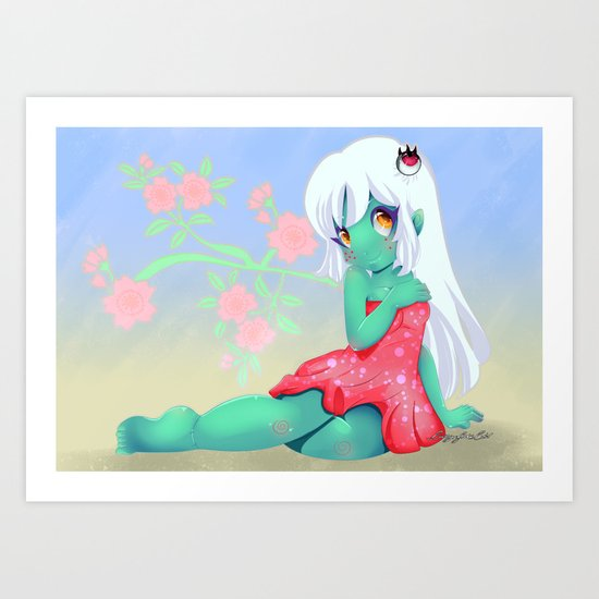 Asha Sakura Art Print