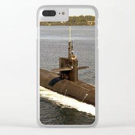 USS PENNSYLVANIA (SSBN-735) Clear iPhone Case