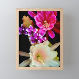 Pinkish, Pinker, And Far Out Pink Framed Mini Art Print