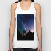 milky way Tank Tops featuring the milky way. by 2sweet4words Designs