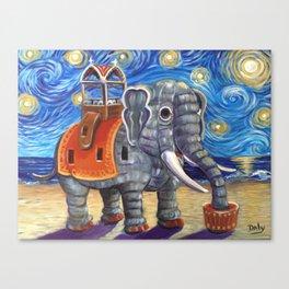 Starry Lu Canvas Print