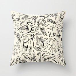 Fantastic Beasts Throw Pillow