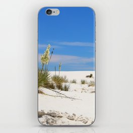 Soap Yucca At White Sand iPhone Skin
