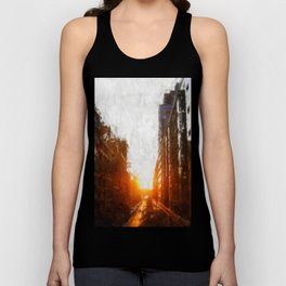Manhattanhenge Unisex Tank Top