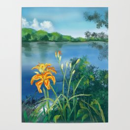 Lillie's on the River Poster