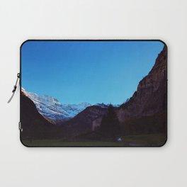 Swiss Alps From Below Laptop Sleeve