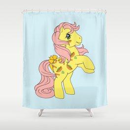 G1 my little pony Munchy Shower Curtain