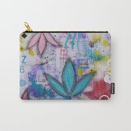 Flowers in freedom Carry-All Pouch