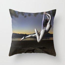 The Art of Flight Throw Pillow