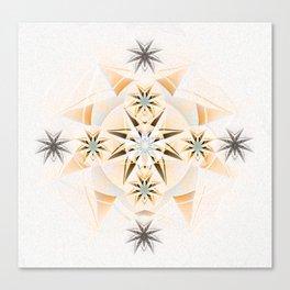 Ignacio: Twin Flame Dreamtime Mandala Canvas Print