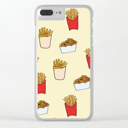 Gimme Fries Clear iPhone Case
