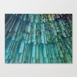 Underwater Reflection Canvas Print