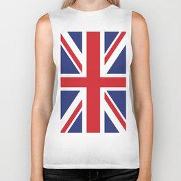 United Kingdom flag Biker Tank