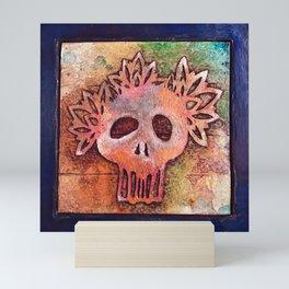San Francisco Sugar Skull 3 Mini Art Print