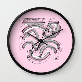 Beings in the Nano-World / 22-08-16 Wall Clock