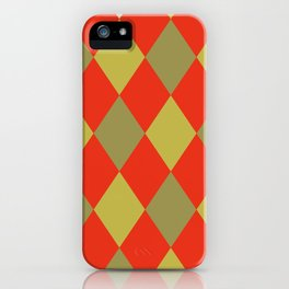 Harlequin Classic iPhone Case