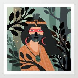 Jade Warrior Kunstdrucke