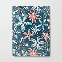 Jasmine Flowers Metal Print