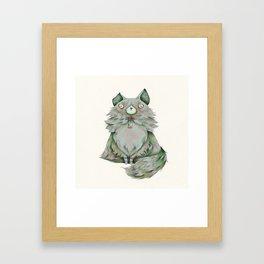Brume color Framed Art Print