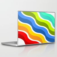 bacon Laptop & iPad Skins featuring Bacon by Roberlan Borges