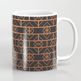 Art Deco Subway Diamonds #2 Coffee Mug