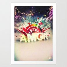 Amor Art Print