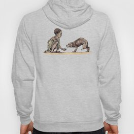 Boy and Puppy Hoody