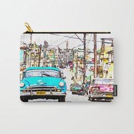 Cuba , calle de La Habana  ( Cuba , Havana street ) Carry-All Pouch
