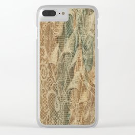 Ace of Wands Clear iPhone Case