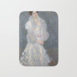Gustav Klimt - Portrait of Hermine Gallia Bath Mat