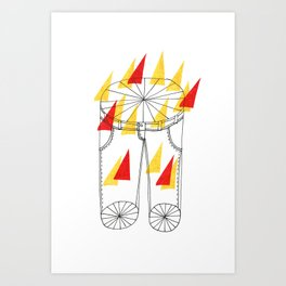 Hot Pants Art Print