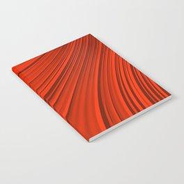 Renaissance Red Notebook