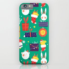 xmas gifts iPhone Case